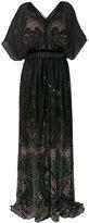 Roberto Cavalli paisley maxi dress - women - Silk - 42