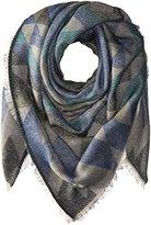 Steve Madden Women's Kaleidoscope Jaquard Square Blanket Wrap