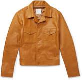 Sandro - Slim-Fit Leather Jacket