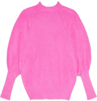 Apparis Rory balloon-sleeve jumper