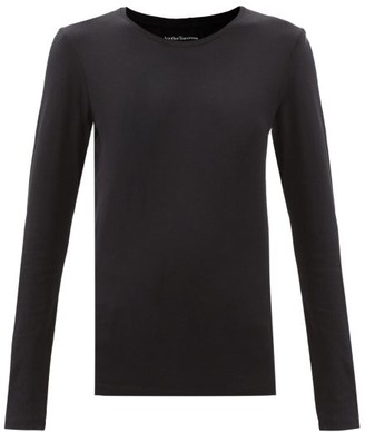 Another Tomorrow - Long-sleeved Organic-cotton T-shirt - Black