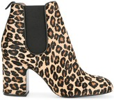 Laurence Dacade Mia leopard-print ankle boots