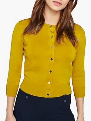 Damsel in a Dress Catrin Three-Quarter Sleeve Cropped Cardigan