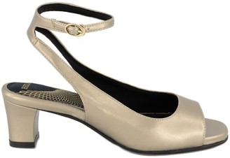 "Hexa Petra - Vegan Sandal 2"" - Gold"