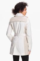DKNY Two Tone Trench Coat