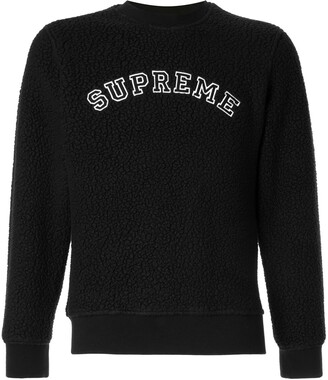 Supreme Polartec deep pile sweatshirt