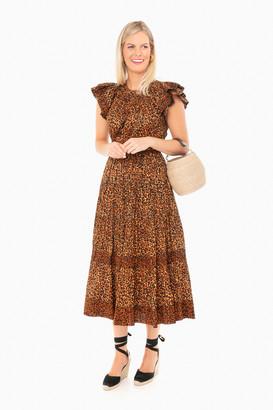 Ulla Johnson Leopard Iona Dress