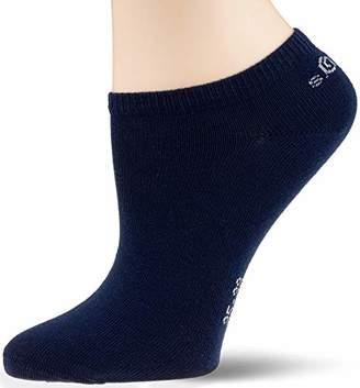 S'Oliver Socks Women's S24001 Ankle Socks, (Dark Blue 5900), (Pack of 3)
