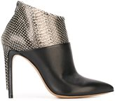 Maison Margiela two tone ankle boots
