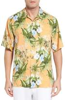 Tommy Bahama Men's Big & Tall Corfu Jungle Silk Camp Shirt
