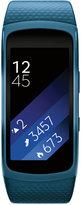 Samsung Unisex Gear Fit2 Smart Fitness Band with 25x51mm Aluminum Case & Blue Sport Strap SM-R3600ZBNXAR