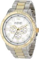 August Steiner Men's AS8060TTG Quartz Multi-Function Bracelet Watch