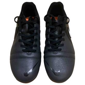 Nike Black Polyester Boots