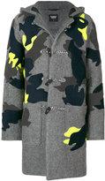 Christopher Raeburn patch detail hooded coat
