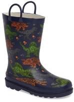 Western Chief Boy's Dino Facets Rain Boot