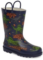 Western Chief Toddler Boy's Dino Facets Rain Boot