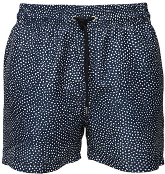 Apnée Printed Regenerated Nylon Swim Shorts