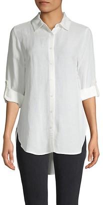 Calvin Klein Roll-Sleeve Shirt