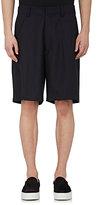 Facetasm Men's Pinstriped Worsted Wool Shorts