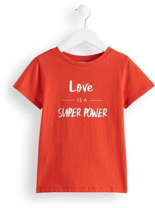 Amazon Brand - RED WAGON Girl's 'Super Power' Sweatshirt Top