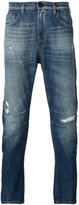 Versace distressed-effect jeans - men - Cotton/Polyester - 29