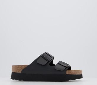 Birkenstock Papillio Arizona Platform Sandals Black