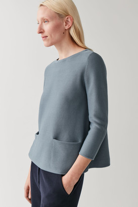 Cos A-Line Cotton Knitted Top