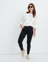 "Madewell Petite 9"" Mid-Rise Skinny Jeans in Lunar Wash: TENCEL Denim Edition"