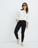 "Madewell Taller 9"" Mid-Rise Skinny Jeans in Lunar Wash: TENCEL Denim Edition"