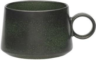 Ecology Earth Palm Pottery Mug 380ml Black