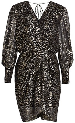 Derek Lam 10 Crosby Freya Confetti Lurex Clip Dress