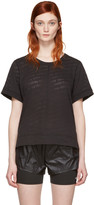 adidas by Stella McCartney Black Burnout T-Shirt