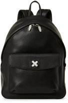 Alexander Wang Black Crux Pebbled Leather Backpack