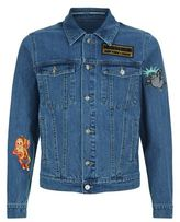 Kenzo Badge Denim Jacket