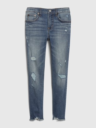 Gap Kids High Rise Slim Ankle Pencil Jeans with Stretch