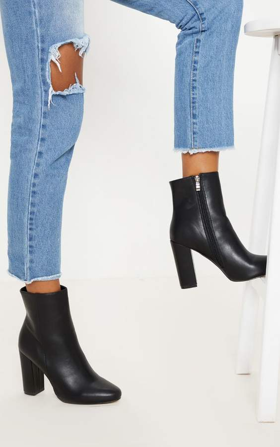 ee0ea0c3a504 PrettyLittleThing Black Boots For Women - ShopStyle UK