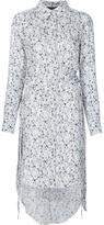 Thomas Wylde 'Glaze' shirt dress - women - Silk - M
