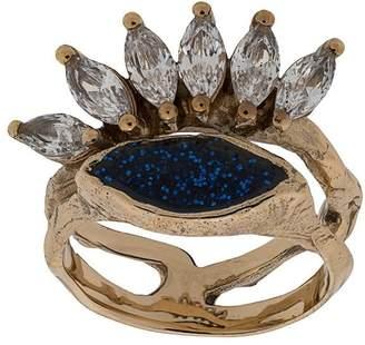 Voodoo Jewels stack branch ring