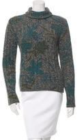 Etro Wool & Angora-Blend Patterned Sweater
