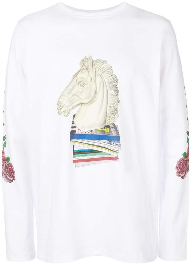 Soulland プリントTシャツ