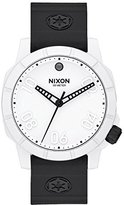 Nixon Men's 'Ranger 40 SW IP' Quartz Stainless Steel and Silicone Watch, Color:Black (Model: A468SW-2243)