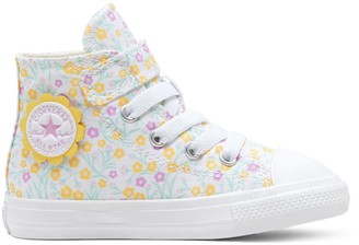 Converse Toddler Girls' Chuck Taylor All Star 1V Floral High Top Sneakers