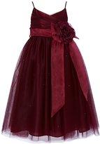 Lilibridal Tulle Flower Girl Junior Bridesmaid Little Girl Toddler Dress LLB048