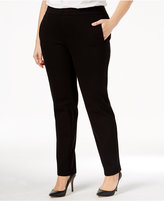 Charter Club Plus Size Slim-Leg Pants, Only at Macy's