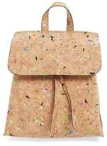 Street Level Cork Texture Backpack - Brown