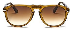 Persol x A.p.c. Unisex Aviator Sunglasses, 54mm