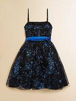 Un Deux Trois Girl's Sequin Party Dress