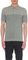 John Smedley Viking Knitted Polo Shirt