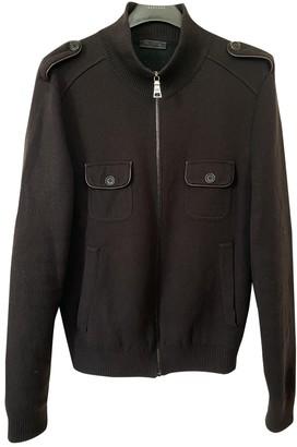 Prada Brown Wool Knitwear & Sweatshirts