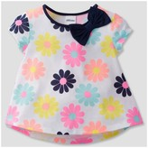 Gerber Graduates® Toddler Girls' Flowers Top - White